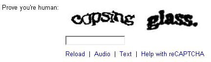 Two loves: CSS & Recaptcha