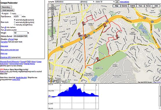 Gmaps Pedometer + Google Calc = 8.94607843 minutes per mile