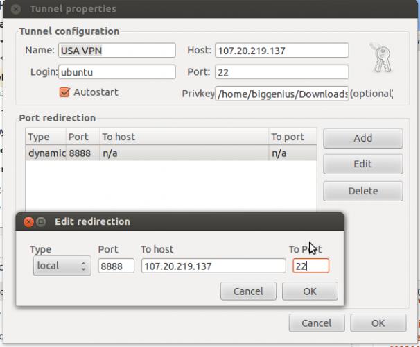 Using Git on Ubuntu with SSH Tunnels to Mac OS X Host